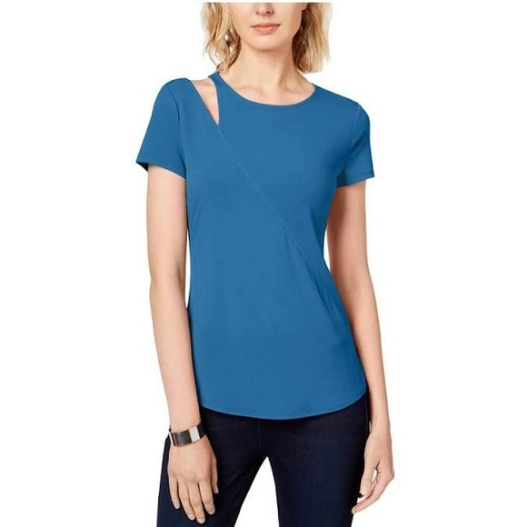 INC International Concepts Tops - NWT Inc. cutout short sleeve tee shirt blouse plus